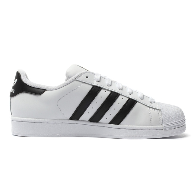 Intersport Original New Arrival Adidas Official Superstar Classics Unisex Men's and Women's Skateboarding Shoes Sneakers