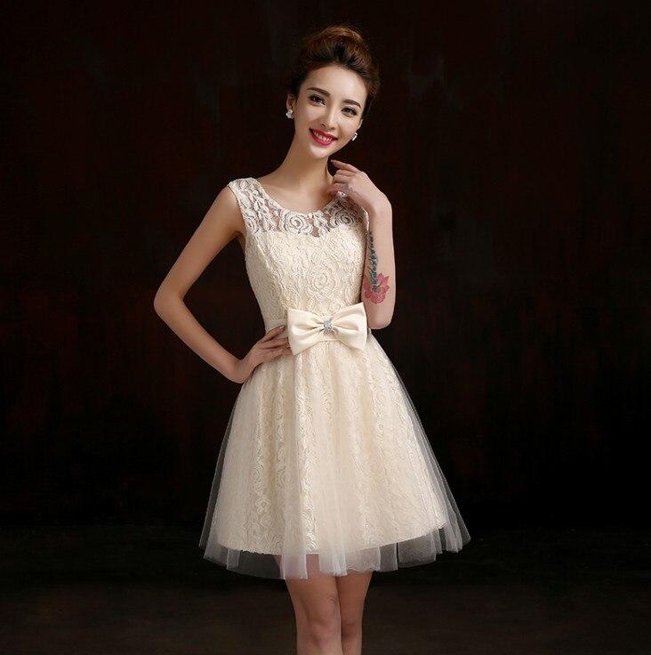 vestidos novia cortos color champagne – vestidos madrina