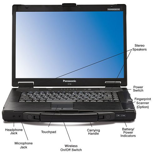 best quality toughbook cf52 laptop military stable pc for. Black Bedroom Furniture Sets. Home Design Ideas