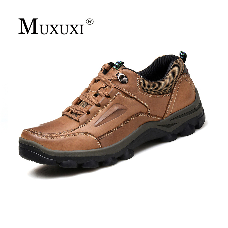 Brand Lace up Outdoor Natural leather Men Shoes Comfortable Casual Shoes Men Oxford Breathable Flats For Men Trainers zapatos dekesen brand men casual shoes lace up 100% cow leather men flats shoes breathable dress oxford shoes for men chaussure homme