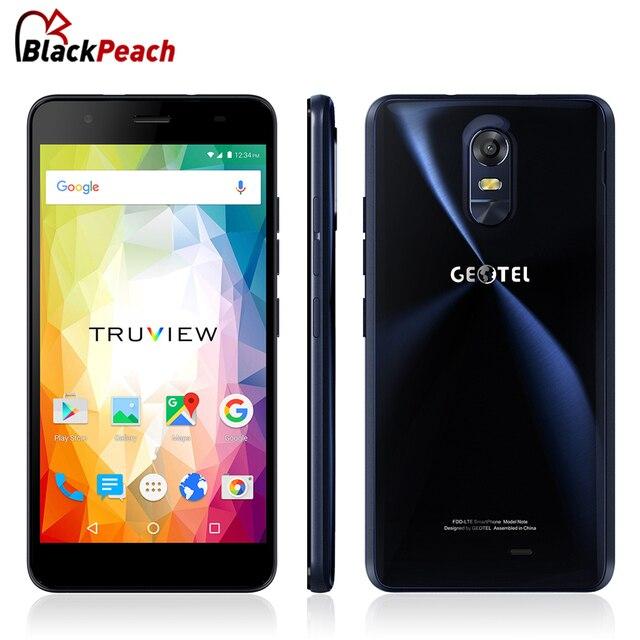 Оригинал Geotel Примечание 4 Г Мобильный Телефон 5.5 Дюймов HD IPS MTK6737 Quad ядро Android 6.0 3 ГБ RAM 16 ГБ ROM 13MP Cam 3200 мАч Батареи GPS