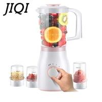 JIQI Food machine Juicer Mixer Blender processor Baby food maker Mixing milkshake Ice grinder Vegetable mincer 200W 1.2L for 3 5