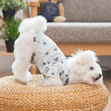 Cute Dog Clothes Winter Poodle Four Legs Teddy Bichon Puppy Hoodie Autumn Ropa De Perrito Pet Costume 50WY29