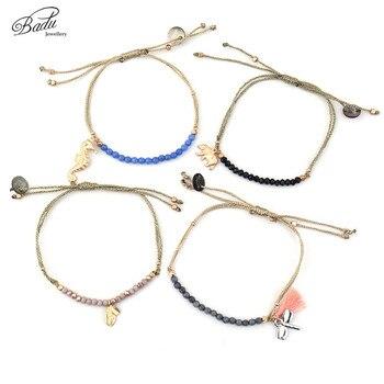 Badu Friendship Bracelets Women Gifts Beads Adjustable 2017 Summer Bracelet Fashion Jewelry Boho Style Holiday Original Design