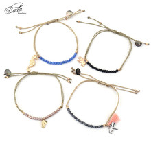 Badu Friendship Bracelets Women Gifts Beads Adjustable 2017 Summer Bracelet Fashion Jewelry Boho Style Holiday Original Design