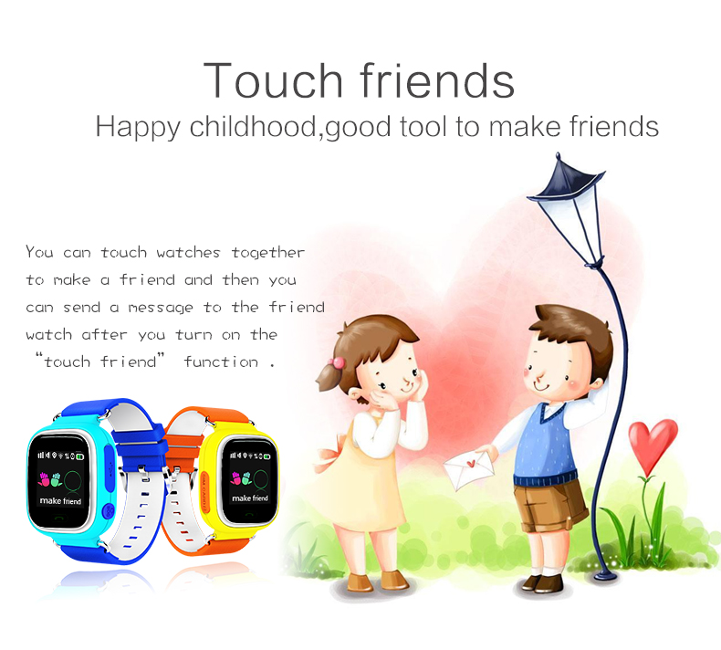 Voice-Monitoring Watch Children GPS Positioning-Card Sos-Alarm Android-Ios-System Elderly