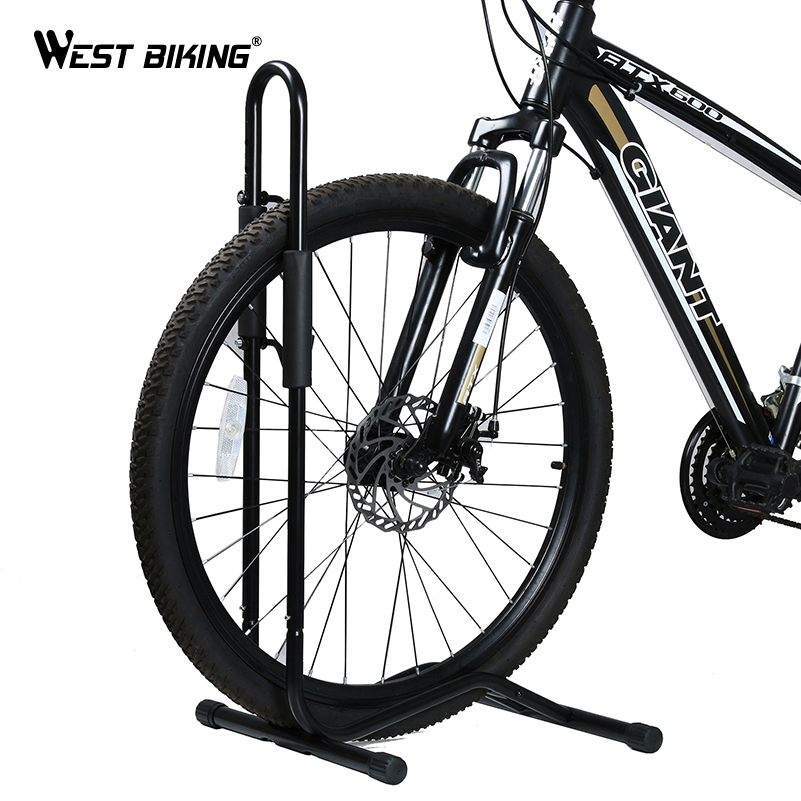 WEST BIKING Bicycle Packing Racks Aluminum Alloy L-type MTB Road Bike Racks Storage Holder Cycling Bike Wheel Hub Display Stand west biking bike chain wheel 39 53t bicycle crank 170 175mm fit speed 9 mtb road bike cycling bicycle crank
