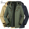 Winter men jacket Military Down Parkas coat for thermal Windbreaker male jackets outerwear Waterproof Windproof Two-piece jp2180