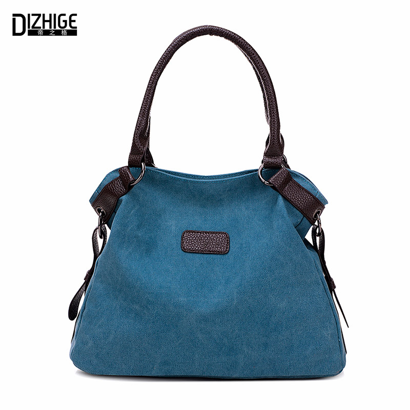 Vintage Canvas Bag Women Designer Handbags High Quality Tote Bag Ladies Shoulder Hand Bag Bolsos Sac A Main Femme De Marque 2016 printed letters handbags new hot brand women small tote bag hand bag famous designer high quality handbags sac main femme bolsas