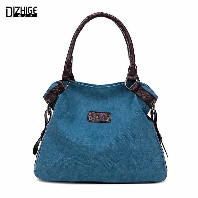Vintage toile Sac femmes Designer sacs à Main De haute qualité fourre-tout Sac dames épaule Sac à Main Bolsos Sac A Main Femme De Marque 2016