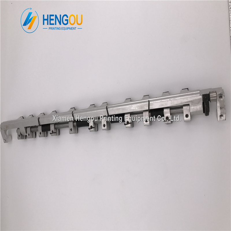 4 Pieces Hengoucn GTO52 Delivery Gripper Bar Hengoucn Printing Machine Parts 69.014.003F 4 Pieces Hengoucn GTO52 Delivery Gripper Bar Hengoucn Printing Machine Parts 69.014.003F