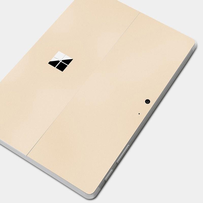 זהב מדבקות Tablet מסך מגן Tablet מדבקות חזרה כיסוי עבור משטח ללכת גלישה להגן מדבקת עור עבור Microsoft משטח ללכת