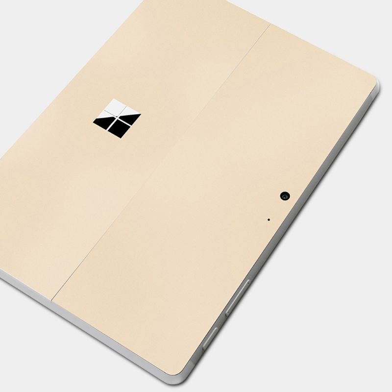 Gold Tablet Decals Screen Protector Tablet Decal Back Cover For Surface Go Wrap Protect Skin Sticker For Microsoft Surface Go