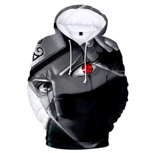 Image 2 - Japan Anime Naruto Akatsuki Red Cloud 3D Print Hoodie for Men Women Hooded Sweatshirt Winter Fashion Casual Tracksuit Cool Tops