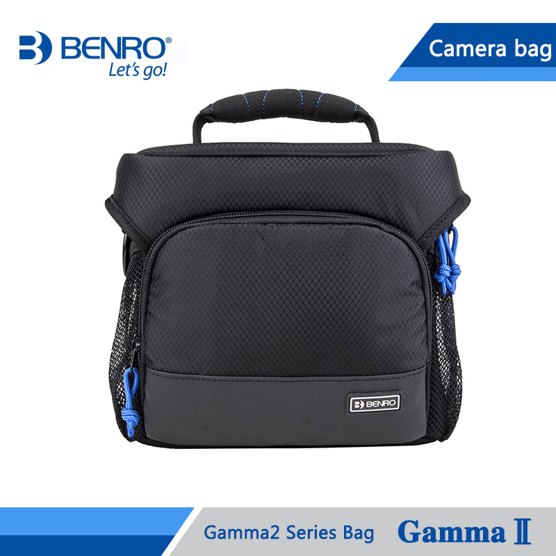Benro Gamma2 Bag Shoulder Video Camera Bags Waterproof DSLR Camera Bag Case For Canon Nikon Camera Rain Cover Free Shipping 1pc waterproof protective camera shoulder bag portable carrying case bag 3 sizes for canon nikon camera mayitr