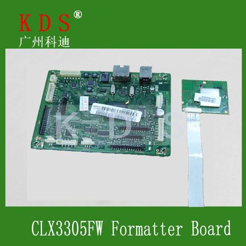 ФОТО JC9202484A for Samsung CLX3305FW Formatter Board Mainboard
