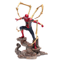 Hot Toys Marvel Avengers Super Hero Spiderman Action Figures PVC Spider Man Figure Collectible Model Toys Gift for Children 2018 marvel amazing ultimate spiderman captain america iron man pvc action figure collectible model toy for kids children s toys