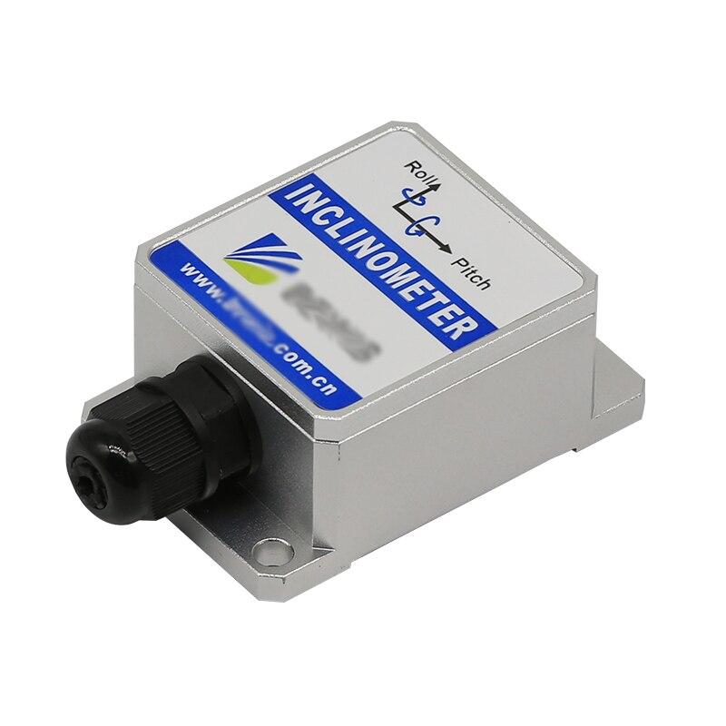 Bw vg100 динамический наклона Датчики наклона Двухосевое Инклинометр точность 2/0.2 градусов Разрешение 0.01 Напряжение коммутатора/RS232 RS485 TTL