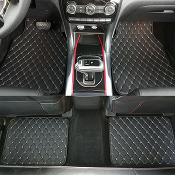 ZHAOYANHUA Universal car floor mats car styling mat liner fit All Models Mazda 3 Axela 6 Atenza 2 8 CX5 CX-5 CX-7 image