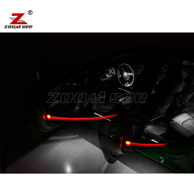 16 шт. x canbus Error Free для Audi A7 S7 RS7 C7 Quattro(2011-) Светодиодный светильник Интерьер чтениt дорожной карты свет комплект посылка