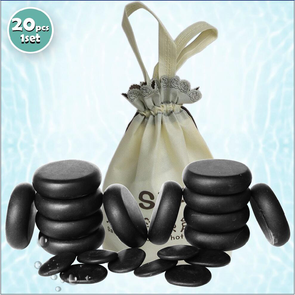 New! 20pcs/set Hot stone SE pendant set Beauty Salon SPA with heater bag CE and ROHSNew! 20pcs/set Hot stone SE pendant set Beauty Salon SPA with heater bag CE and ROHS