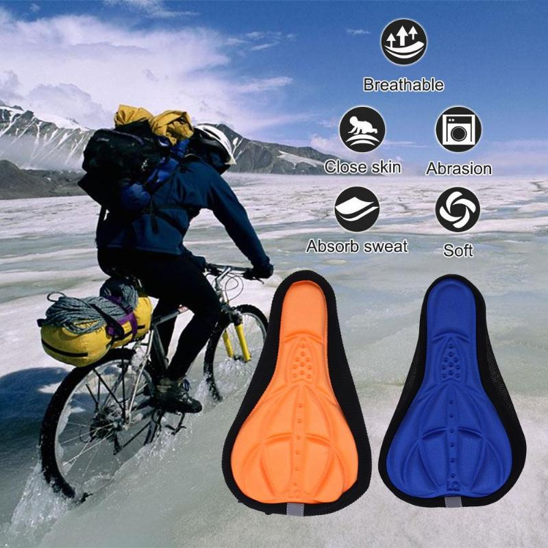 Bike Soft Silicone Cushion-Comfortable Seat Bicycle-Ride for More