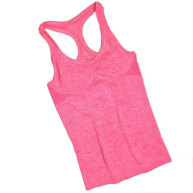 Summer Women Yoga Top Gym Comfortable Sports Sleeveless T Backless Shirts Sport Fitness Gym Shirts Running Clothes Singlets Tops 4
