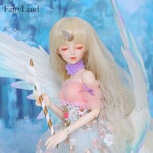 Image 4 - Fairyland FairyLine Lucywen bjd sd кукла 1/4 FL MSD тело фигурки из смолы модель девушка глаза высокое качество игрушки магазин OUENEIFS