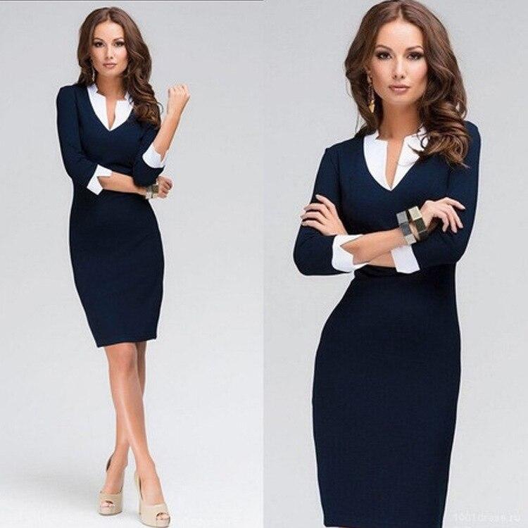 Vestidos sastres elegantes para mujer