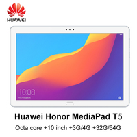 Huawei MediaPad T5 huawei honor T5 Kirin 659 Octa core 10 inch 3G/4G RAM 32G/64G ROM wifi/LTE version 5100mAh android tablet