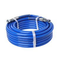 15m/10m/7.5m Spray Hose Airless Hose 5000PSI High Pressure Pipe Airless Sprayer Paint Hose For Sprayer Gun Water Pipe
