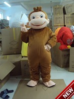 2018 New Mascot Costume Adult Character Costume Mascot As Fashion Freeshipping Cosplay Smile Monkey