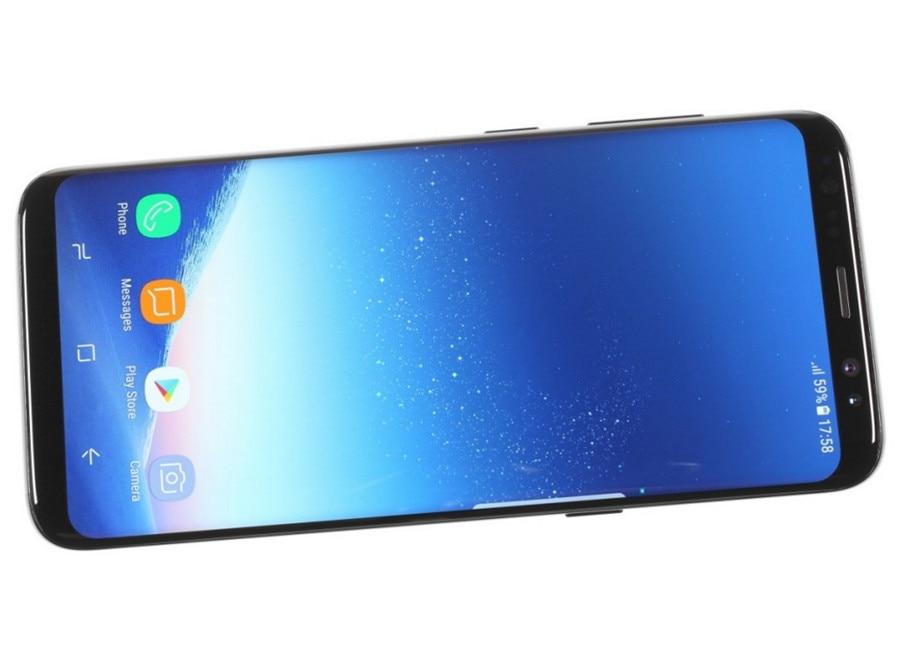 Refurbished Samsung Galaxy S8  64GB ROM+4GB RAM, 3500mAh,12+8MP, 5.8Inch  Dual sim Smartphone silver dual sim 11
