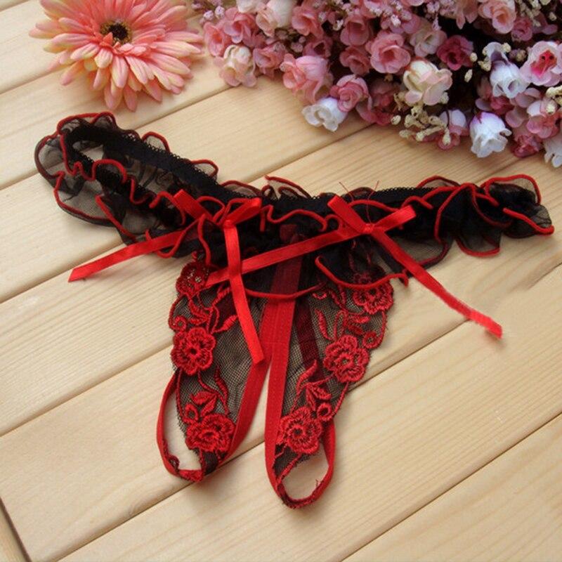 Free shipping women thongs g strings crotchless g string thong bandage underwear   panties   sexy calcinha tangas briefs