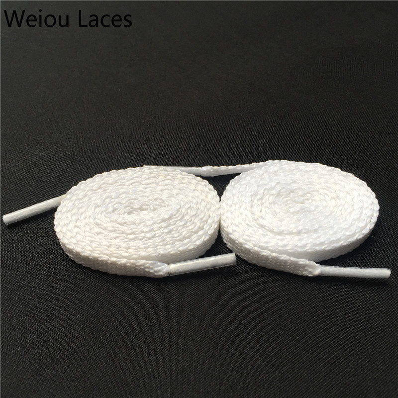 Shoelaces Shoes Fine Weiou Cbrl 7mm Flat Tubular Laces Awesome Lacet Novelty Customized Colored Shoelaces Ribbon Hollow Shoestring Sports Bootlaces Wide Selection;