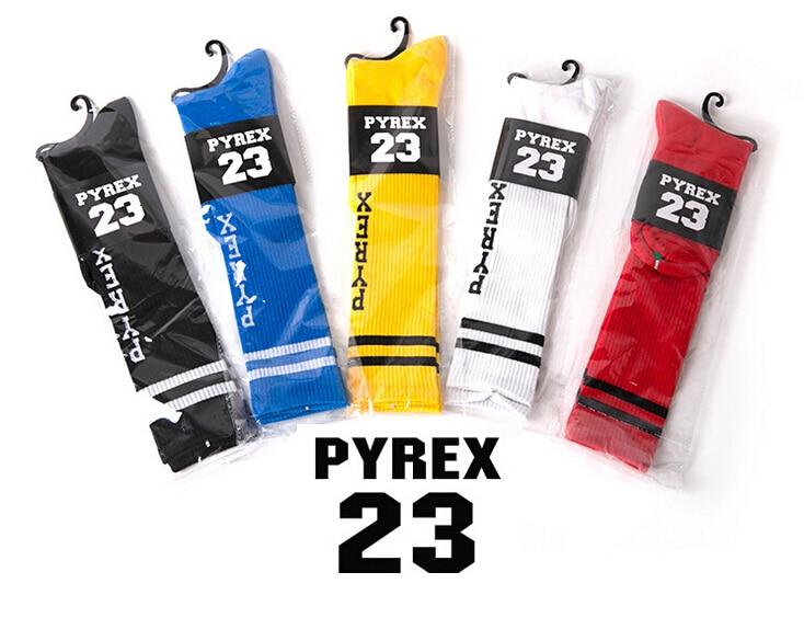 Retail cheap Cotton Unisex pyrex 23 summer Thin style hiphop men Walking Stockings