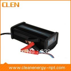 CLEN sterowany MCU  impuls ładowania 24 V 2A/4A/8A przełączane ładowarka akumulatorów kwasowo ołowiowych w Ładowarki od Elektronika użytkowa na