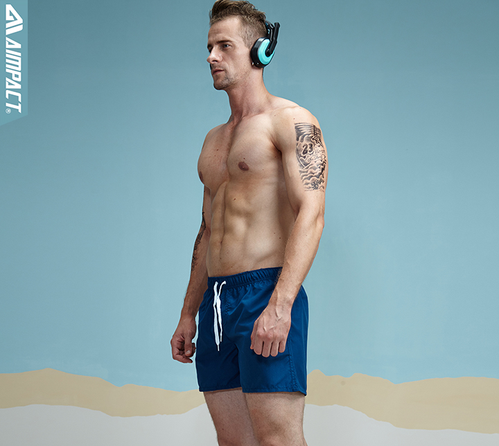 Aimpact Quick Dry Board Shorts for Men Summer Casual Active Sexy BeachSurf Swimi Shorts Man Athlete Gymi Home Hybird Trunks PF55 15