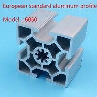 Perfil De Alumínio padrão europeu  6060 slot de perfil de alumínio industrial  heavy duty frame