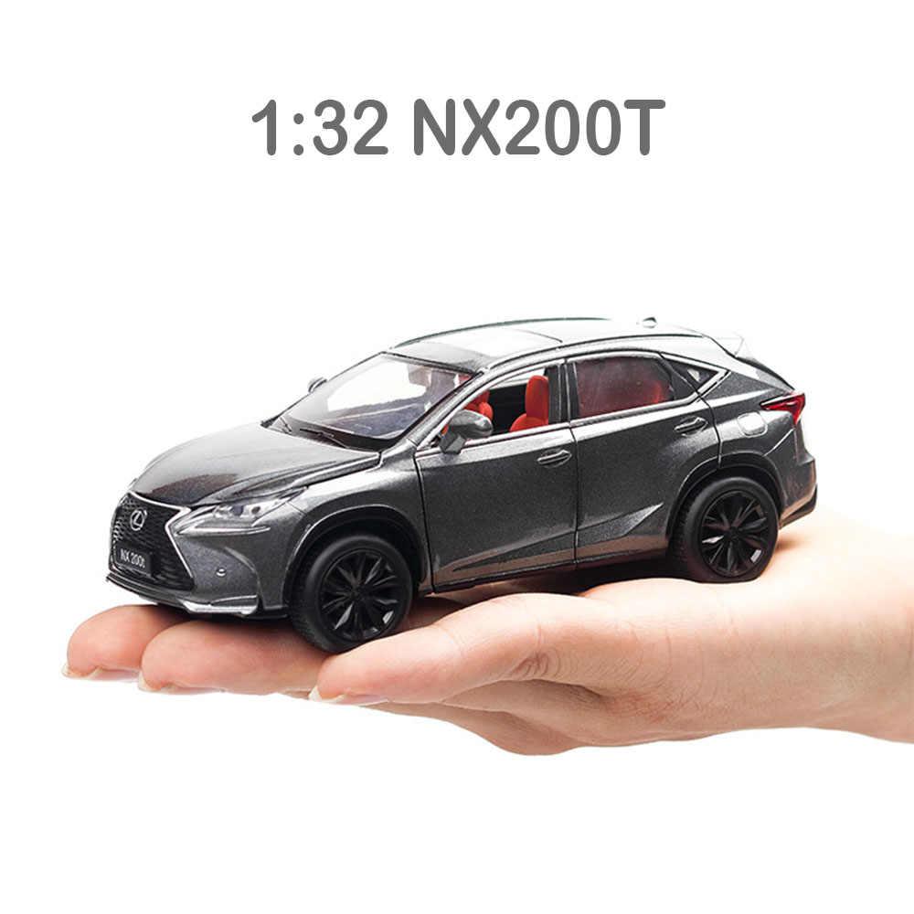 Модель автомобиля Honda Odyssey Lexus Nx200t Lx570 Toyota таможенный приходной ордер Highland 1:32 брелок для автомобильных ключей, игрушки для детей, металл, полученный литьем под давление автомобиля детские игрушки
