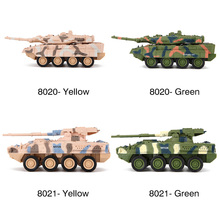 8020/8021 Mini 4CH Remote Control Battle Tank Car RC Military Model Mini Tiger Battle Tank Toy Best Christmas Gift for Kids
