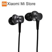 Xiaomi tłokowe słuchawki douszne świeża wersja pięć kolorów z mikrofonem odtwarzanie pauzy dla telefonu komórkowego MP4 MP3 PC