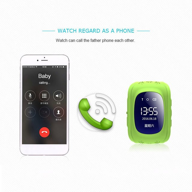 Q50 Smart Watches For Kid Anti Lost Child GPS Tracker SOS Positioning Tracking Smart Phone Kids Watches Clock Baby Best Gift 4