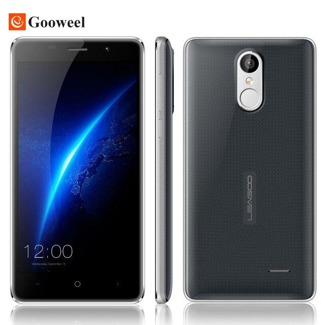 """Leagoo M5 3G Mobile Phone 5.0"""" 1280x720 MT6580A Quad Core smart phone Android 6.0 2GB RAM 16GB ROM 8.0MP 2300mAh Fingerprint ID"""
