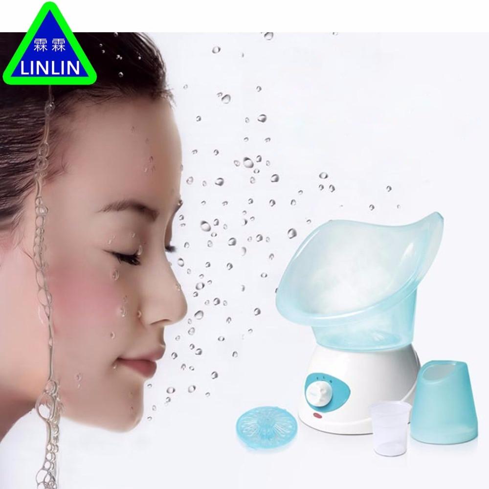 New Popular Thermal Facial Sauna Spa Sprayer Skin Renewal Refresh Mist Warm Steam Travel Face Steamer EU plug