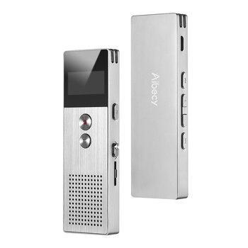 Aibecy M23 8 ГБ Профессиональный цифровой голосовой Регистраторы MP3 Muisc плеер аудио активированный Запись для лекции встречи