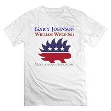 Summer Style Mens T-Shirt Men's Johnson Weld Porcupine Cotton Short Sleeve T Shirts