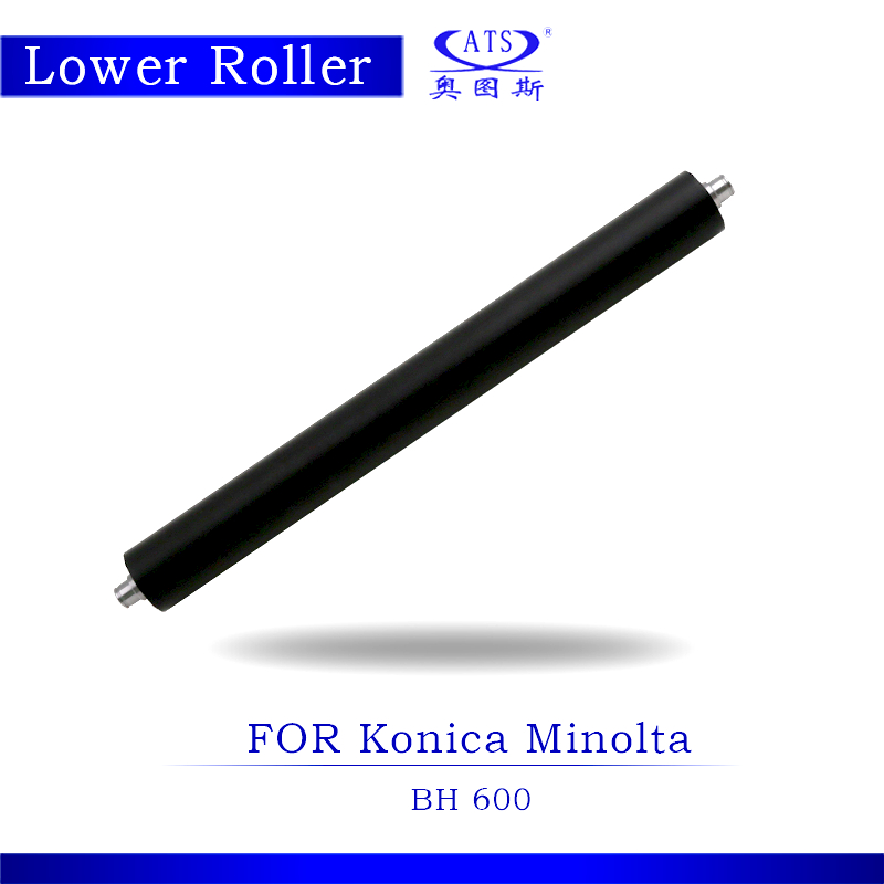 1PCS Photocopy Machine Lower Pressure Fuser Roller For Konica Minolta BH 600 Copier Parts BH600