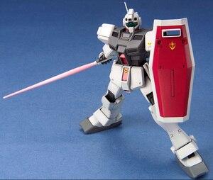 Image 2 - Bandai Gundam 20465 HGUC 1/144 RGM 79D GM Cold District typ mobilny garnitur montaż zestawy modeli figurki Model z tworzywa sztucznego