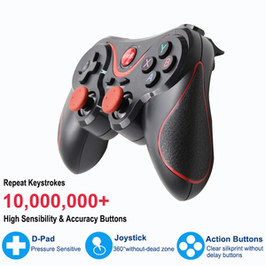Image 3 - Wireless Joystick Bluetooth 3.0 T3/X3 Gamepad For PS3 Gaming Controller Control for Tablet PC Android Smartphone With Holder